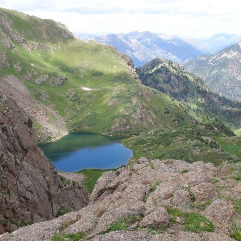 Ruby Lake, Mountain View Crest, San Juan National Forest, Weminuche Wilderness