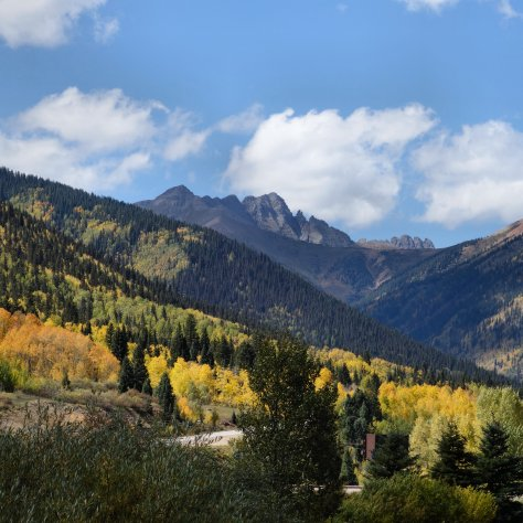 autumn, fall colors, San Juan National Forest, Silverton Colorado, San Juan mountains
