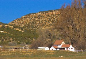 Hendricks house, homestead, Riverside New Mexico