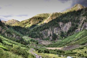 Cunningham Gulch, Silverton Colorado, San Juan National Forest