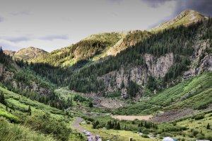 Cunningham Gulch, Silverton Colorado, San Juan National Forest
