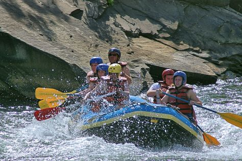 Rafting on the Animas